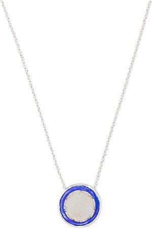 AKANSHA SETHI Moonstone charm neckace
