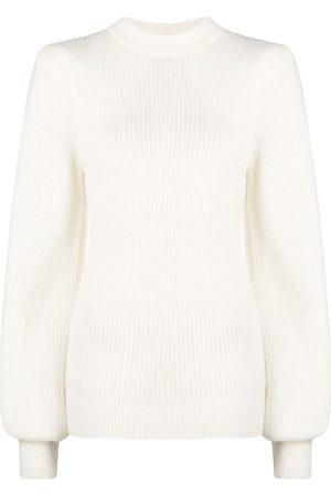 Ganni Rib-knit jumper