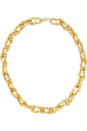 Alighieri The Selva Oscura 24kt -plated choker