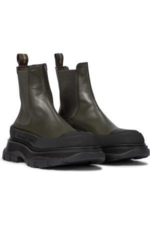 Alexander McQueen Tread Slick leather Chelsea boots
