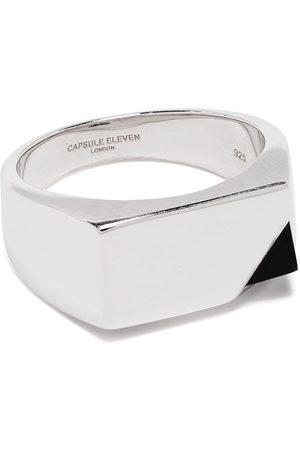 CAPSULE ELEVEN Onyx stone Signet ring