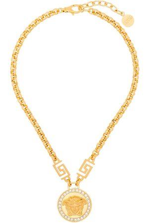VERSACE Icon Medusa crystal-embellished necklace
