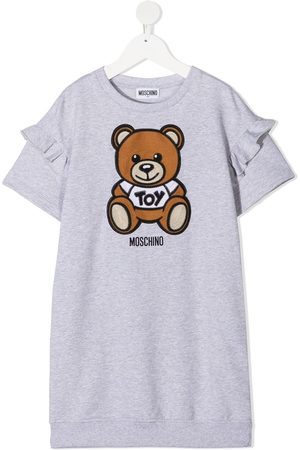 Moschino Teddy Bear-embroidered T-shirt dress