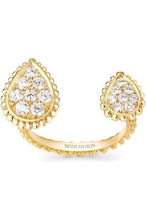 Boucheron 18kt yellow diamond Serpent Bohème ring