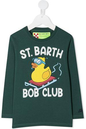 MC2 SAINT BARTH Bob Club print T-shirt