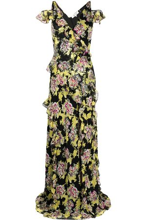 Diane von Furstenberg Floral-print sleeveless maxi dress