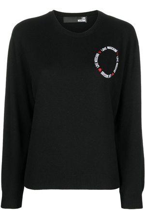 Love Moschino Logo chest jumper