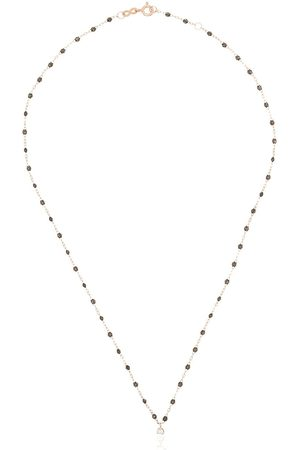 GIGI CLOZEAU 18K rose gold Gigi Supreme beaded diamond necklace