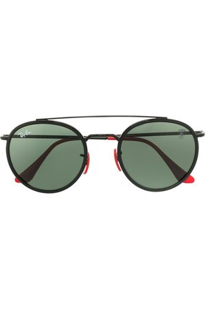 Ray-Ban Two-tone round-frame sunglasses