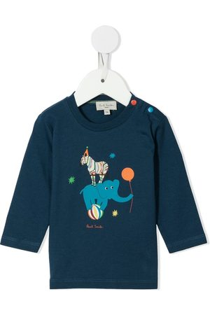 Paul Smith Circus cotton long-sleeved top