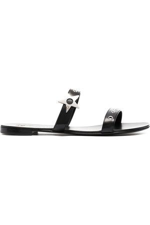 Giuseppe Zanotti Star-embellishment flat sandals