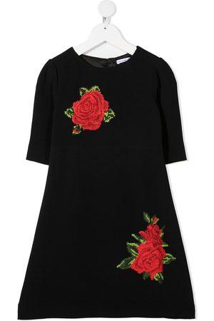 Dolce & Gabbana Rose-embroidered dress