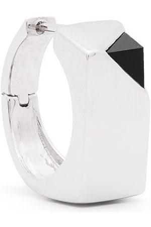 CAPSULE ELEVEN Onyx stone Beneath Signet single earring