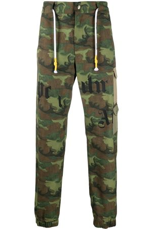 Palm Angels CAMO CARGO PANTS CAMO MILITARY