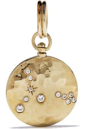 Feidt Paris 9kt yellow sapphire constellation medallion