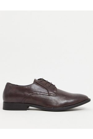 ASOS Derby shoes in faux leather