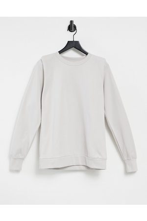 River Island Women Sweatshirts - Shoulder pad sweatshirt in