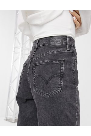 Levi's Levi's high waisted taper jean in washed