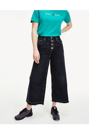 Tommy Hilfiger Mid rise wide leg in wash