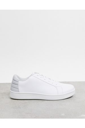 Truffle Collection Men Sneakers - Lace up trainer in with grey tab