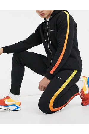 Good For Nothing Men Joggers - Joggers with ombre taping in