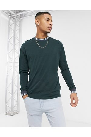 ASOS Relaxed long sleeve t-shirt in