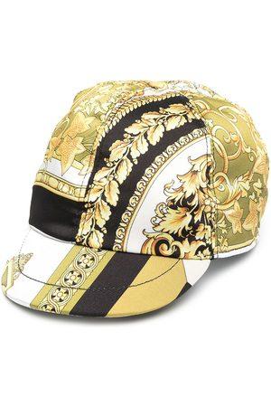 VERSACE Logo-print hat