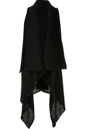 MASNADA Draped open front vest