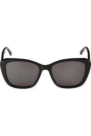 Bottega Veneta Minimalist 55MM Cat Eye Sunglasses
