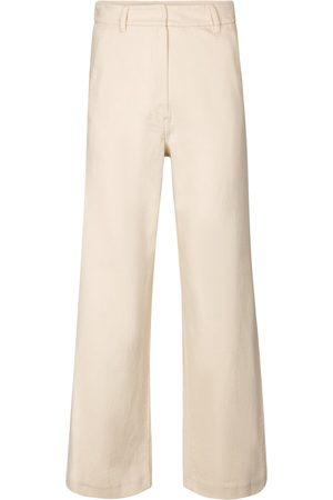Max Mara Sesto high-rise cropped stretch-cotton pants