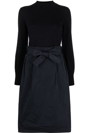 PESERICO SIGN Two-tone jumper dress