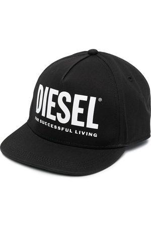 Diesel Logo-print cotton cap