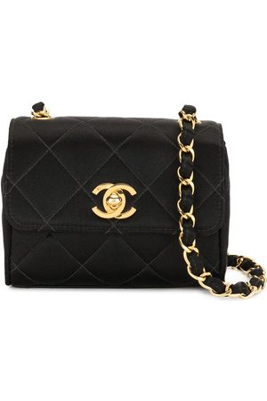 CHANEL 1995 diamond-quilted mini shoulder bag