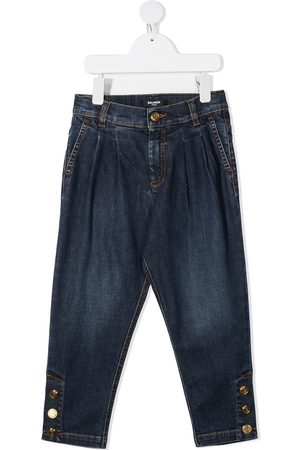 Balmain Buttoned ankles jeans