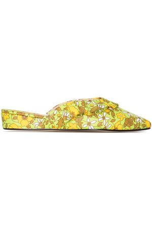 Olivia Morris At Home Blossom floral-print slippers