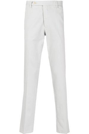ROTA Shadow-striped chino trousers