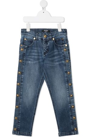 Balmain Side buttons jeans