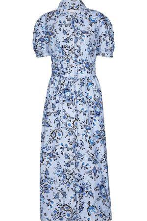 Erdem Frederick cotton poplin midi dress