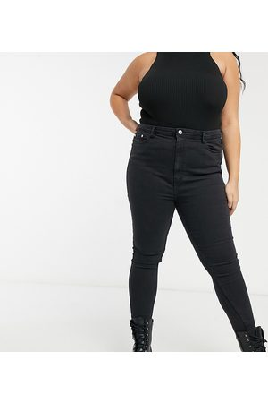 Wednesday's Girl High waist skinny jeans in wash