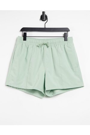 ASOS Swim shorts in pastel with pintuck in short length