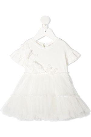 MONNALISA Tulle flared skirt dress