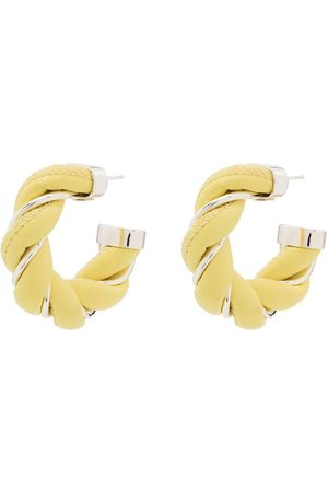 Bottega Veneta Twist sterling-silver earrings