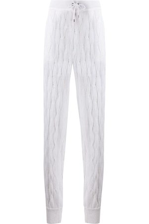 Brunello Cucinelli Cable knit trousers