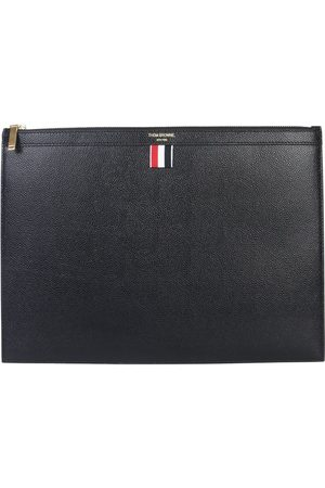 Thom Browne MEN'S MAC021L00198001 LEATHER POUCH