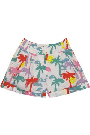 Stella McCartney Printed cotton shorts