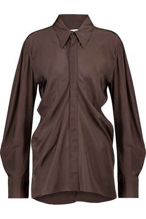 Bottega Veneta Ruched shirt