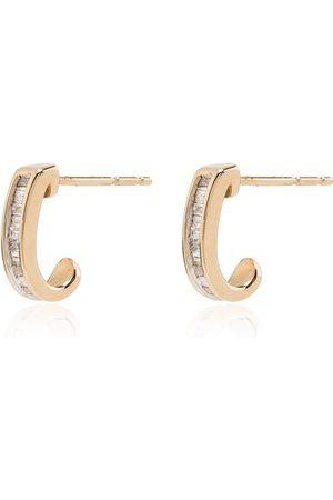 Adina Reyter Women Earrings - 14kt yellow diamond huggies