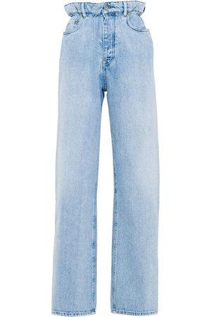 Miu Miu High-waisted straight-leg jeans