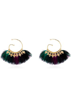 Gas Bijoux Buzios feather earrings