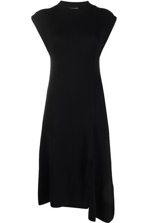 Kenzo Asymmetric knitted dress